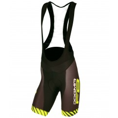 Pinarello FRC BIB shorts Dogma F8 black/yellowfluo