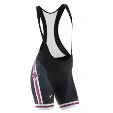 Pinarello BIB short FRC Stars purple/white/black women