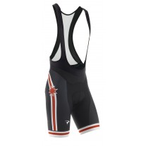 Pinarello FRC BIB shorts Stars wit/rood/zwart
