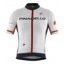 Pinarello shirt men FRC STARS wit/rood/zwart