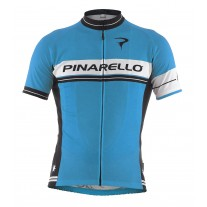 Pinarello Retro shirt Stripe Sky Blue