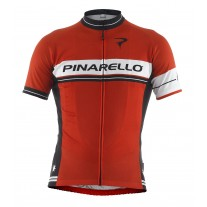 Pinarello Retro shirt Stripe Red