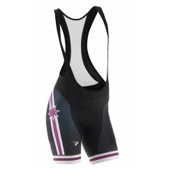 Pinarello BIB short FRC Stars purple/white/black