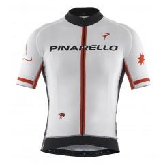 Pinarello fietsshirt men FRC  wit/rood/zwart