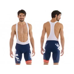 Pinarello Corsa  BIB shorts Gara navy blue/red/white