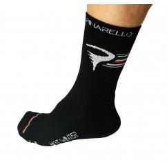 Pinarello sokken zwart hot winter wool