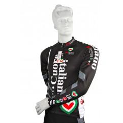 Shirt lange mouw Tafi linea Roubaix zwart