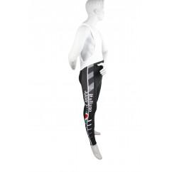 Winterbroek met bretel Tafi linea Roubaix zwart