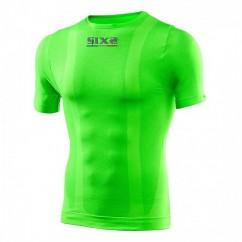 SIXS ondershirt korte mouw groen