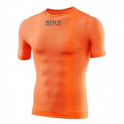 SIXS ondershirt korte mouw oranje